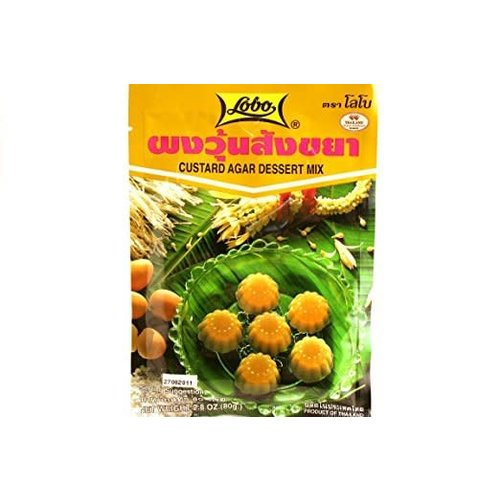 Lobo Agar Dessert Mix- Custard  80g