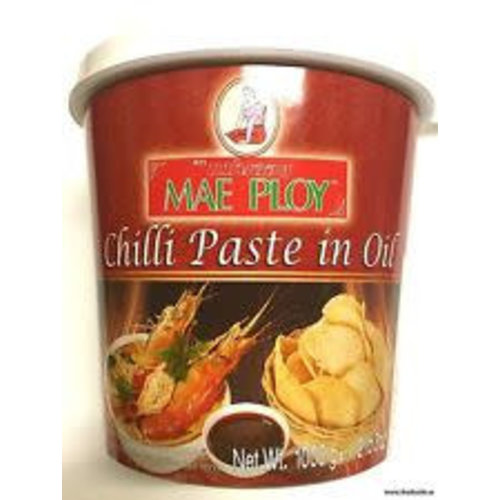 Mae Ploy Chilli Paste in Oil 1kg