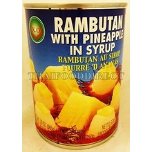 X.O Rambutan with Pineapple in Syrup 565g