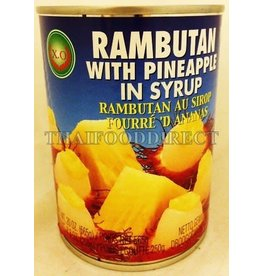 X.O Rambutan with Pineapple in Syrup 565g