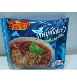 Wai Wai Instant Noodles - Minced Pork Tom Yum Noodle 60g