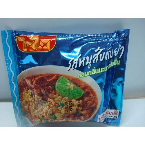 Wai Wai Minced Pork Tom Yum Noodle 60g