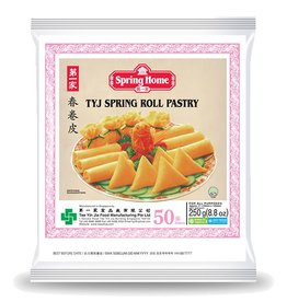 """Spring Home TYJ Spring Roll Pastry 5"""" (50 Sheets) 250g"""
