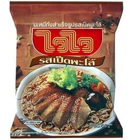Wai Wai Instant Noodles - Palo Duck Noodles 60g