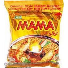 Mama Instant Noodle - Shrimp Creamy Tom Yum - 1 x 60g