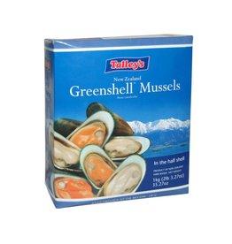 Tallys Half Shell Mussels 1 kg