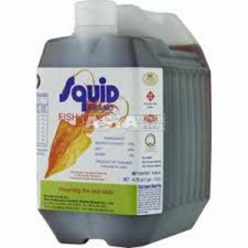 Squid Brand Fish sauce 4500ml