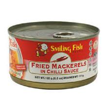 Smiling Fish Fried Mackerel in Chilli Sauce 155g
