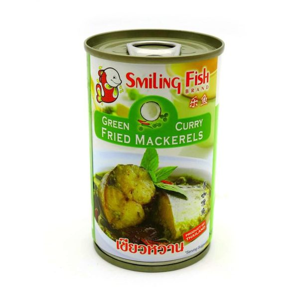 Smiling Fish BBD Fried Mackerel with Green Curry 155g