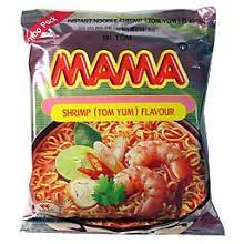 Mama Instant Noodles - Shrimp Tom Yum Flavour - 30 x 60g