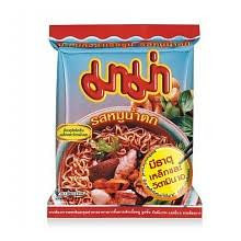 Mama Instant Noodles - Spicy Pork (Moo Nam Tok) Flavour - 30 x 55g