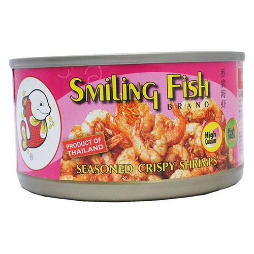 Smiling Fish Seasoned Crispy Shrimps 35g