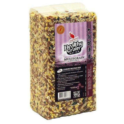 Sawat-D Multi-grain Cereals  Rice 1Kg