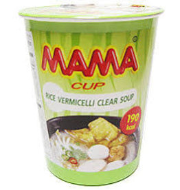 Mama Cup Vermicelli - Clear Soup 50g