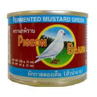Pigeon Fermented  Mustard Green 140g