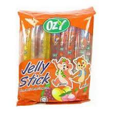 Ozy Brand Fruit Jelly Sticks - 8 x 300g