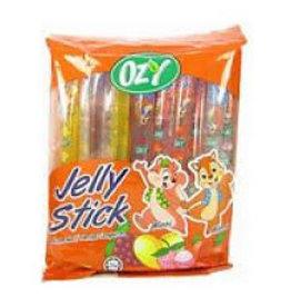 Ozy Brand Fruit Jelly Sticks - 24 x 240g