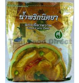 Nittaya Green Curry Paste 1KG