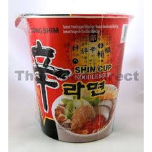 Nong Shim Korean Noodle Soup Hot & Spicy 75g (cup)
