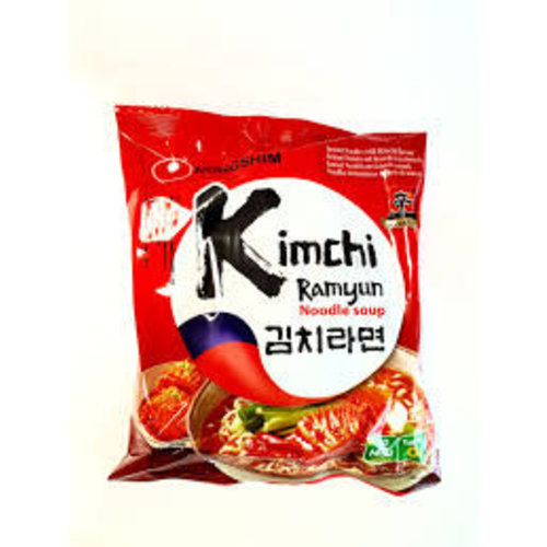 Nongshim Instant Kimchi Ramyun - Noodle Soup 120g