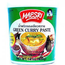 Maesri Green Curry Paste 400g