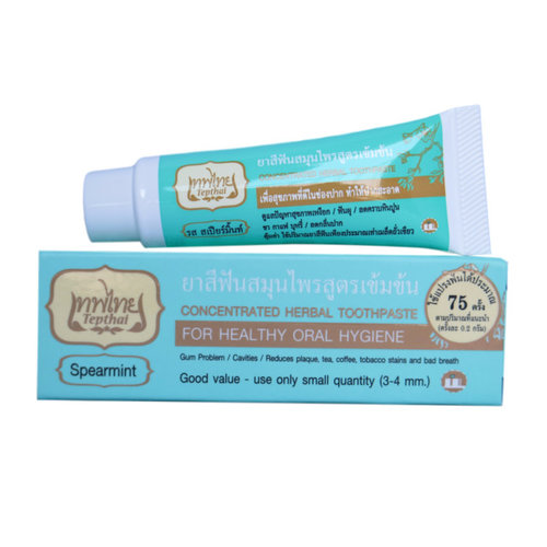 Tepthai Concentrated Herbal Toothpaste - Spearmint