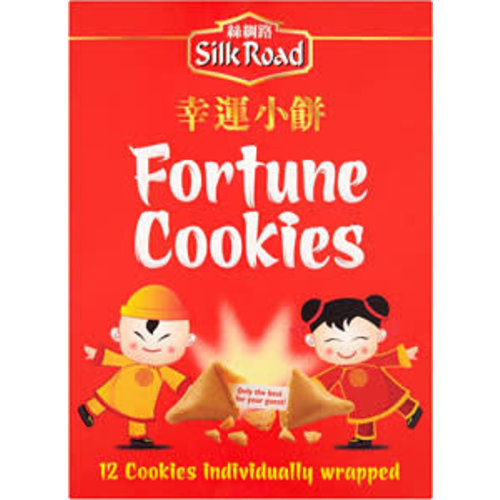 Silk Road 12 Individually Wrapped Fortune Cookies