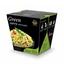 That's Asia Green Curry with Noodles