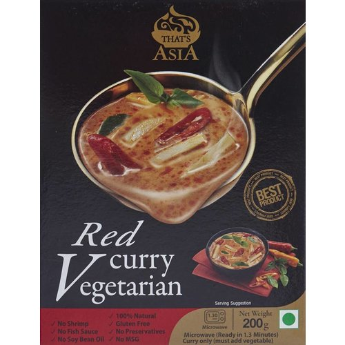 That's Asia Vegetarian Red Curry 200g