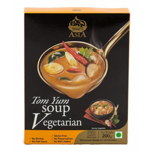 That's Asia Vegetarian Tom Yum Soup 200g