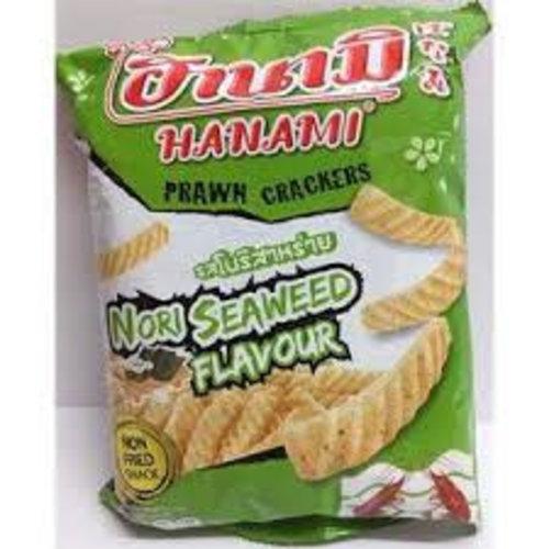 Hanami Prawn Crackers- Nori Seaweed 60g