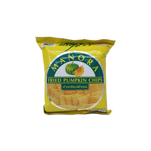 Manora Fried Pumpkin Chips  32g