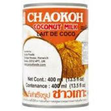 Chaokoh Coconut Milk 24x400ml (Pre-Order)