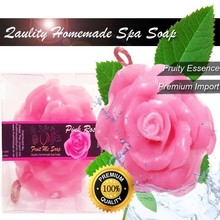 Homemade Pink Rose Soap 100g