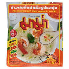 Mama Pre-Cooked Rice Soup Shrimp 72x50g