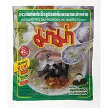 Mama Pre-Cooked Rice Soup Mushroom and Seafood 72x50g (Pre-order)