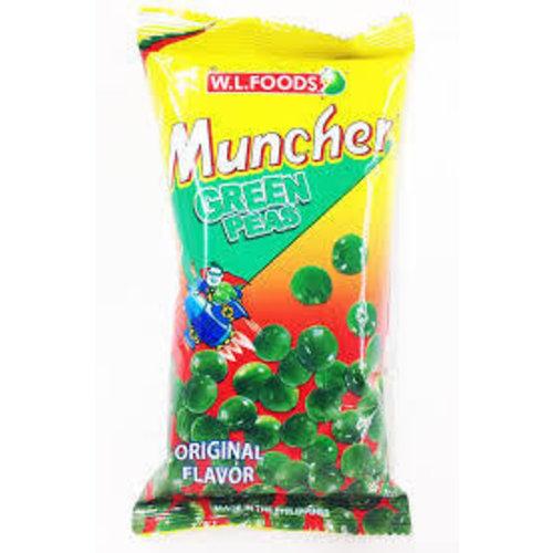 Muncher Green Peas Original 70g