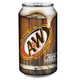 A & W Root Beer 24x330ml (Pre-Order)
