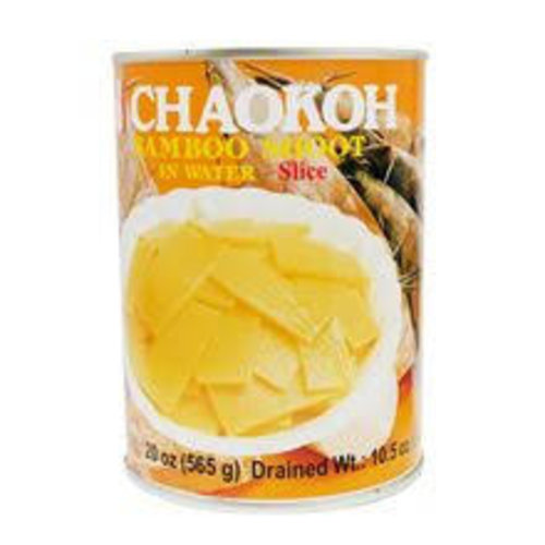 Chaokoh Bamboo Shoot Slice in Water 565g