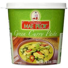 Mae Ploy Green Curry Paste 12x1KG (Pre-Order)