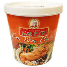 Mae Ploy Tom Yum Curry Paste 24x400g (Pre-Order)
