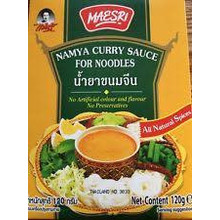 Maesri Namya Curry Sauce for Noodles 24x100g (Pre-Order)