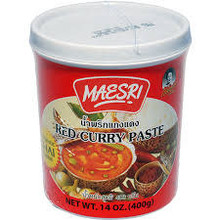 Maesri Red Curry Paste 24x400g (Pre-Order)