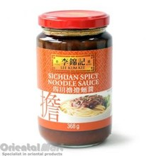 Lee Kum Kee Sichuan Spicy Noodle Sauce 12x368g (Pre-Order)