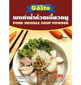 Gosto Instant Pork Noodle Soup Powder 150g