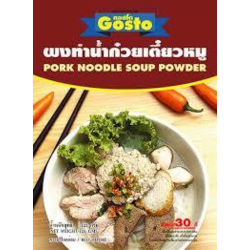 Gosto Noodle Soup Powder - Pork  150g