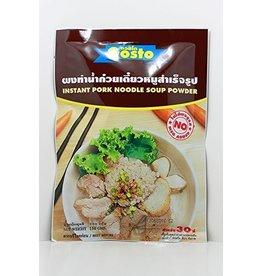 Gosto Instant Pork Noodle Soup Powder 30g