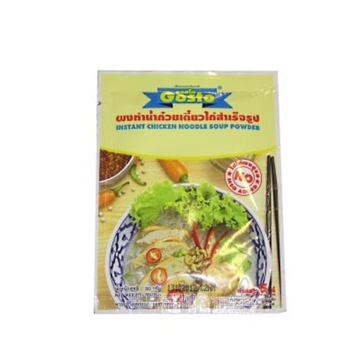 Gosto Noodle Soup - Chicken 30g
