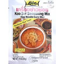 Lobo Kao Soi (Egg Noodle) Seasoning Mix 24x50g (Pre-Order)