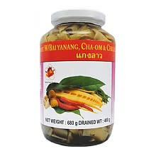B&F Bamboo Shoots (Tips) with Bai Yanang, Chili and Oyster Mushroom 12x680g (Pre-Order)